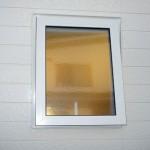 片開き窓→滑り出し窓に交換