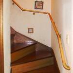 階段への手すり取付