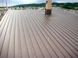工事後 屋根を全面張り替えました